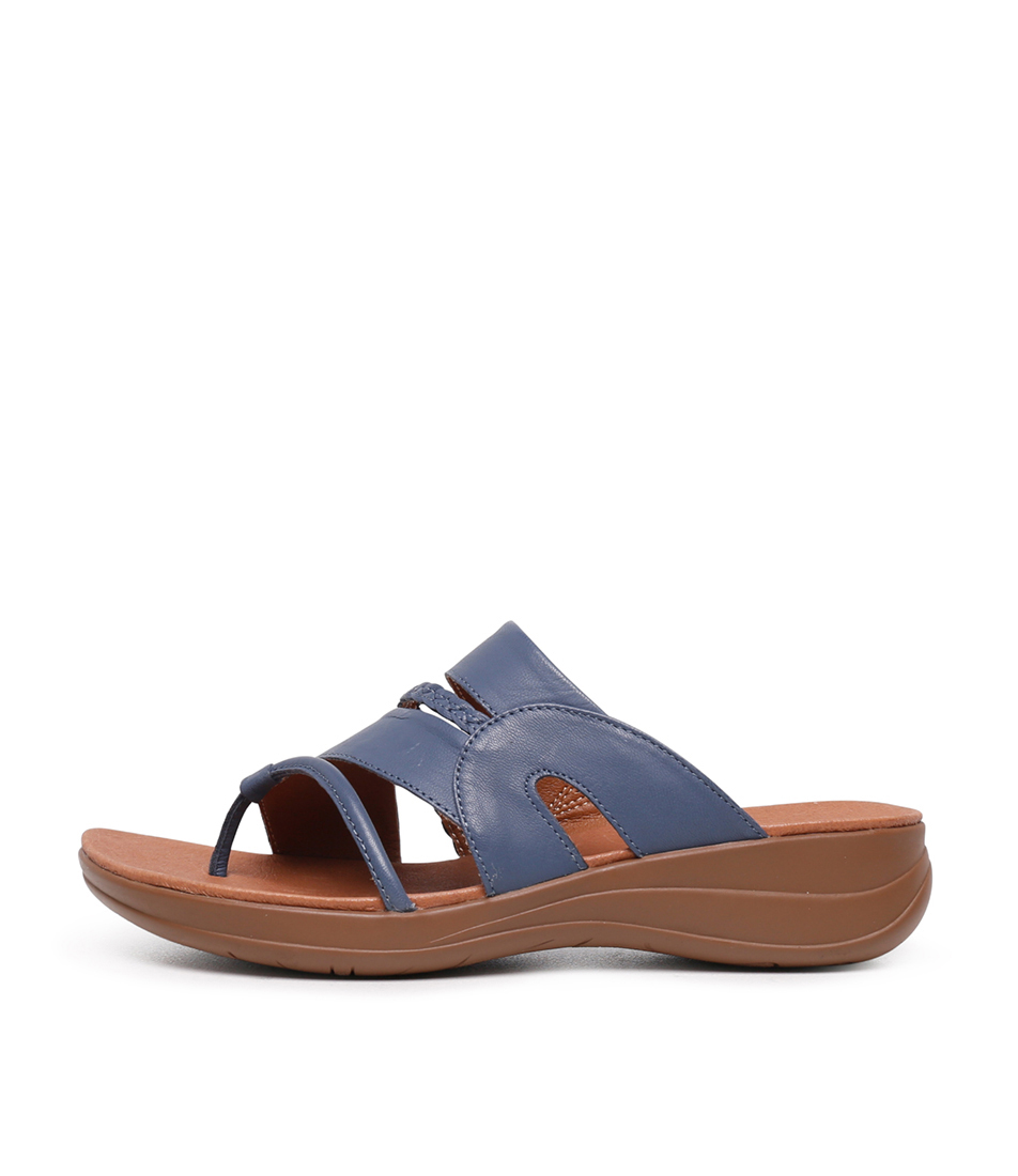 Buy Portland Mia Pp Blue Sandals Flat Sandals online with free shipping