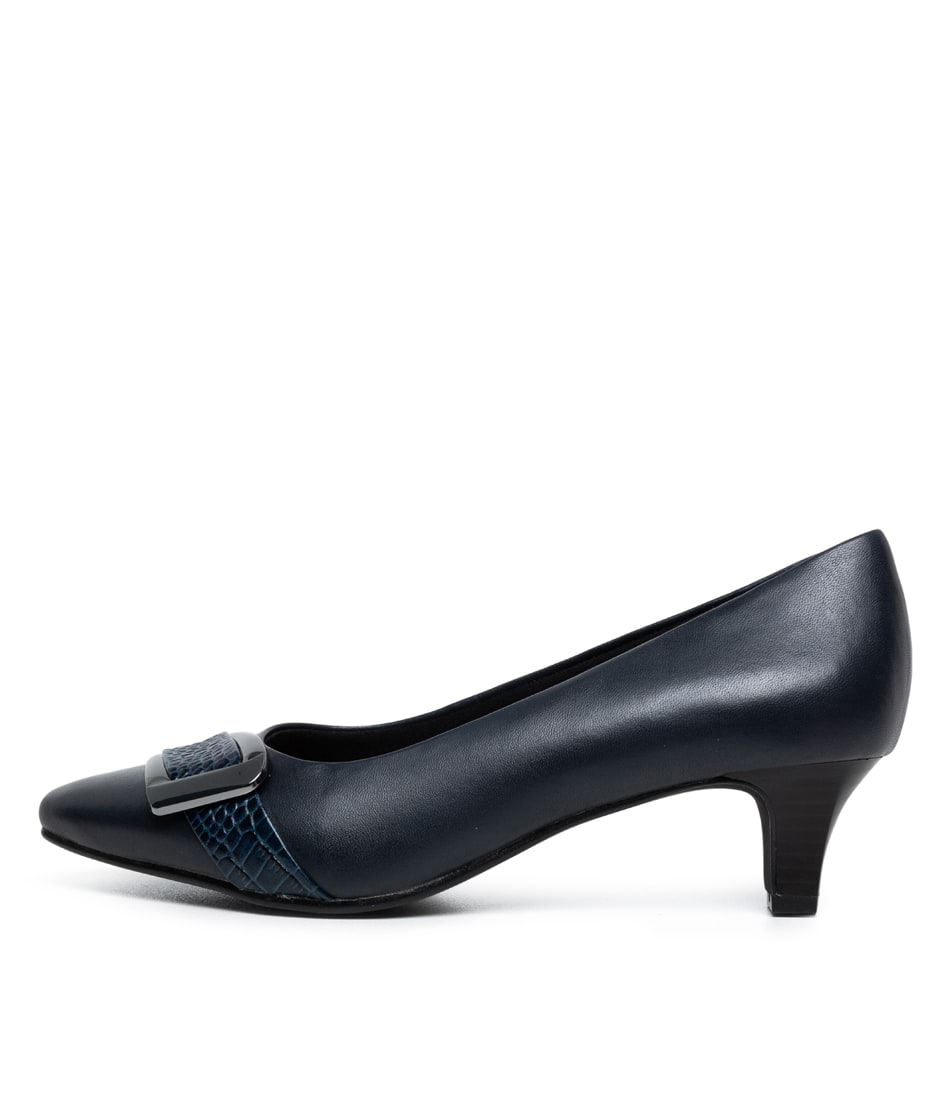 Buy Supersoft Lyberty Navy High Heels online with free shipping