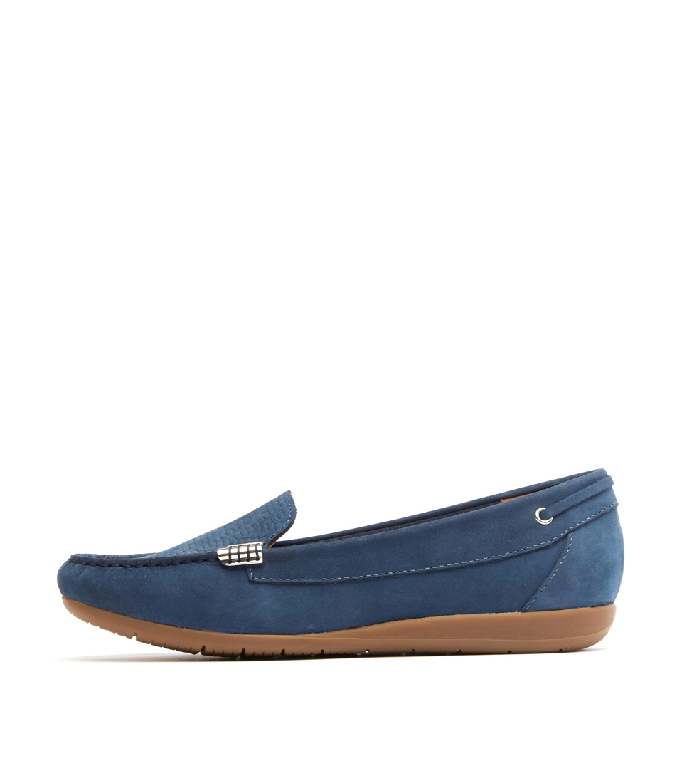 Buy Supersoft France Denim Flats online with free shipping