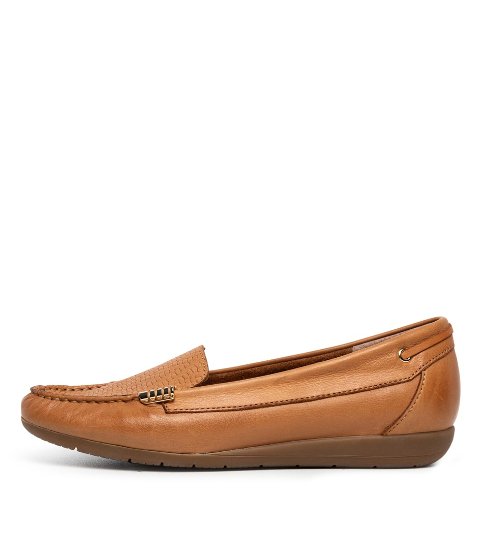 Buy Supersoft France Tan E Flats online with free shipping