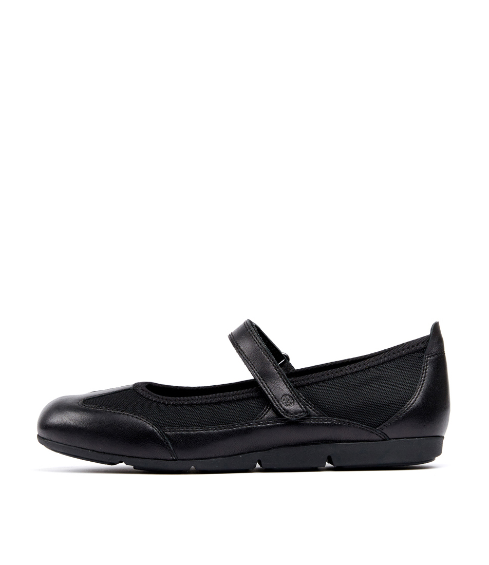 Buy Supersoft Gilmore Black Flats online with free shipping