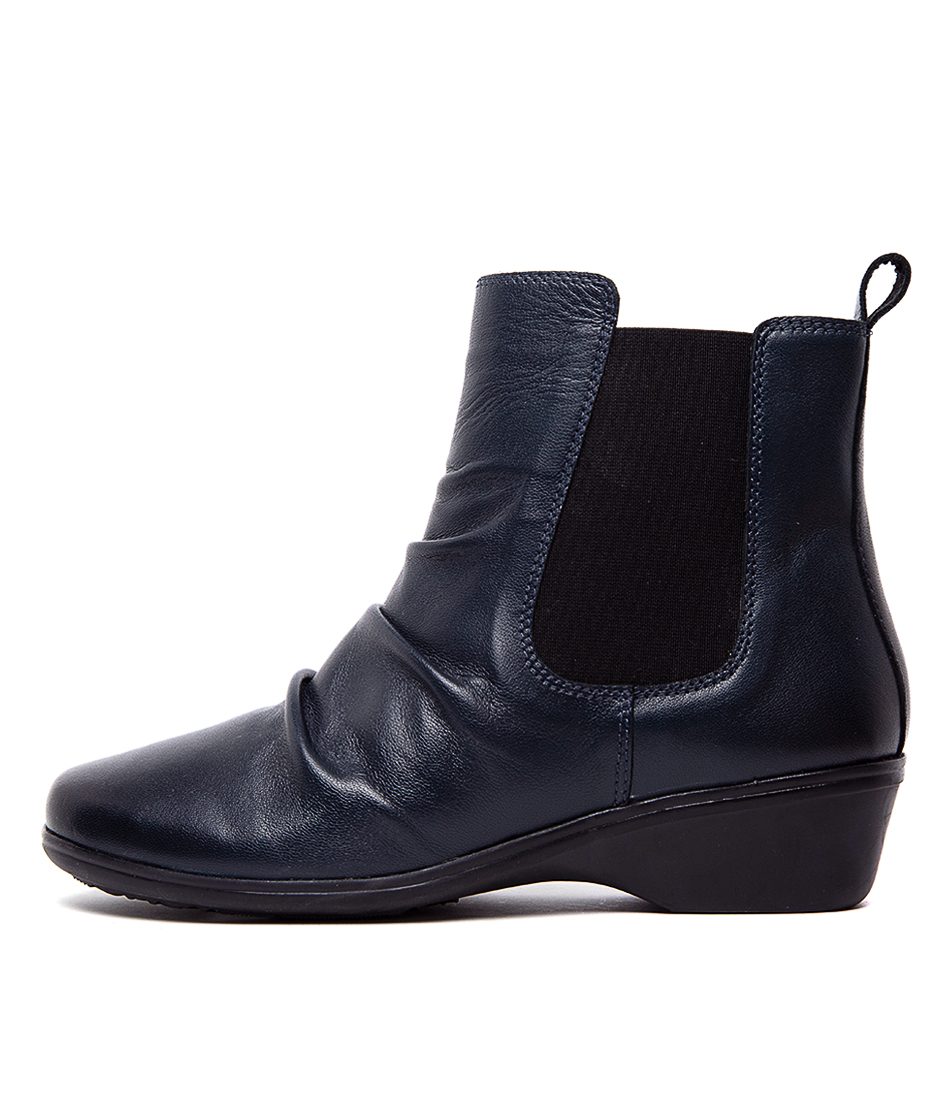 Buy Portland Marble Pp Navy Ankle Boots online with free shipping