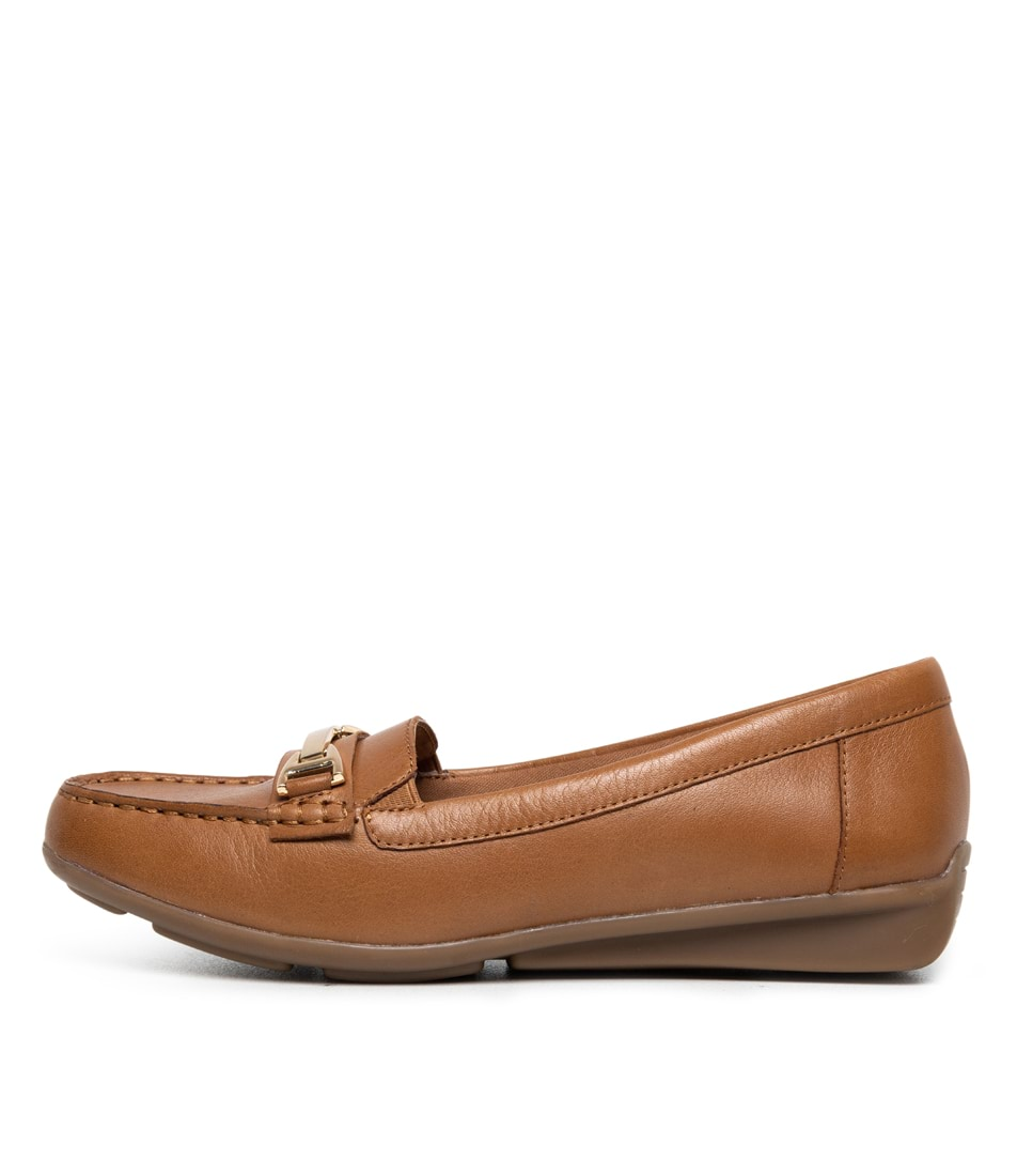 Buy Supersoft Lockney Dark Tan E Flats online with free shipping