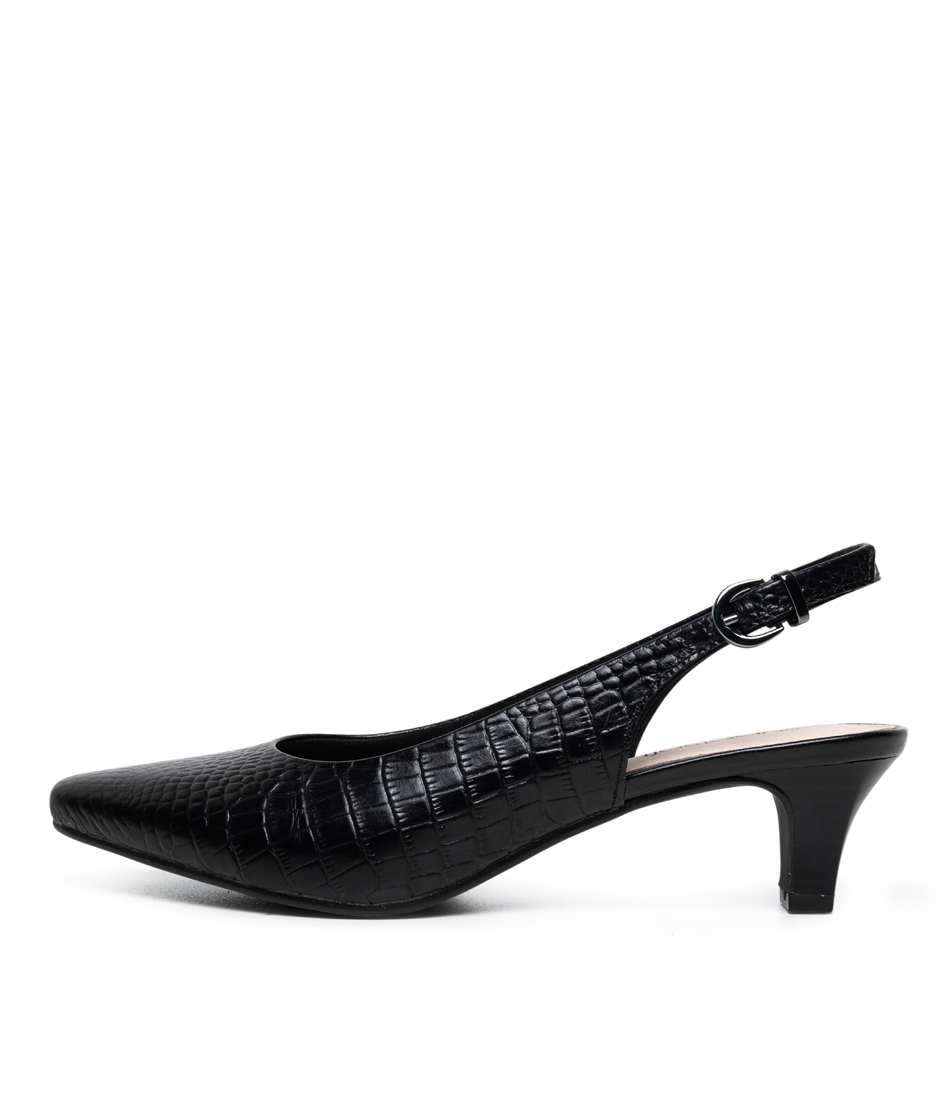 Buy Supersoft Linden2 Black High Heels online with free shipping