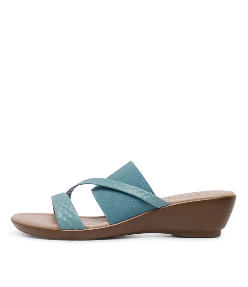 Buy Supersoft Penrose Bright Blue Heeled Sandals online with free shipping