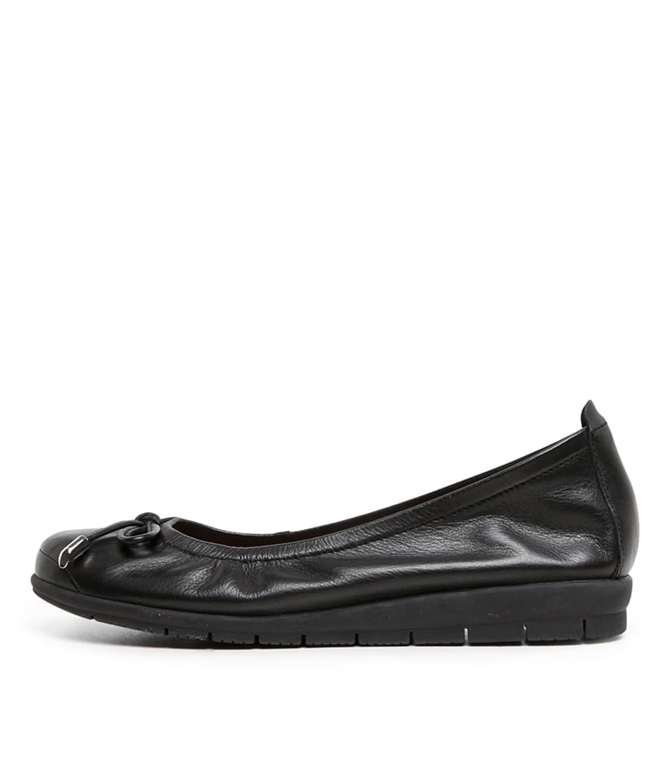 Buy Supersoft Flex2 Su Black Flats online with free shipping