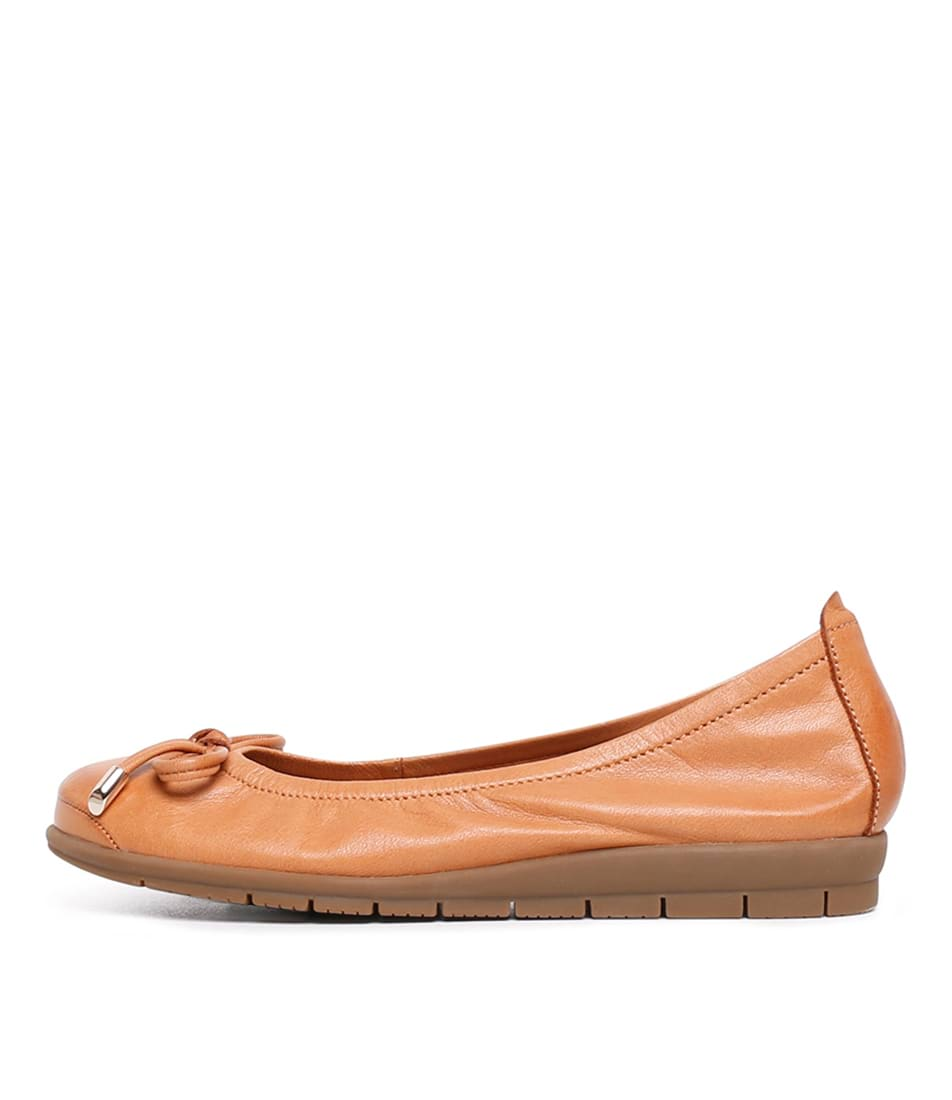 Buy Supersoft Flex2 Su Tan Flats online with free shipping