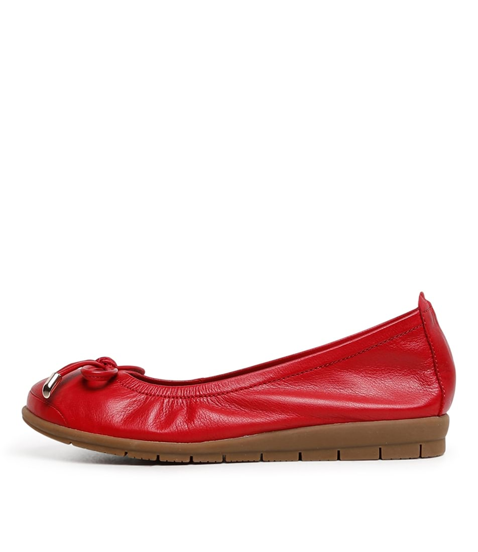 Buy Supersoft Flex2 Su Red Flats online with free shipping