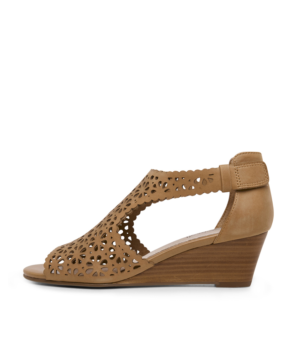 Buy Supersoft Kattina Tan Heeled Sandals online with free shipping