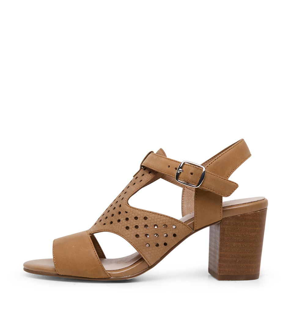 Buy Supersoft Norris Su Tan Heeled Sandals online with free shipping