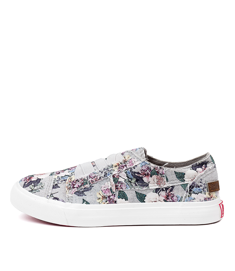 Buy Blowfish Marley Bw Gray Bella Print Sneakers online with free shipping