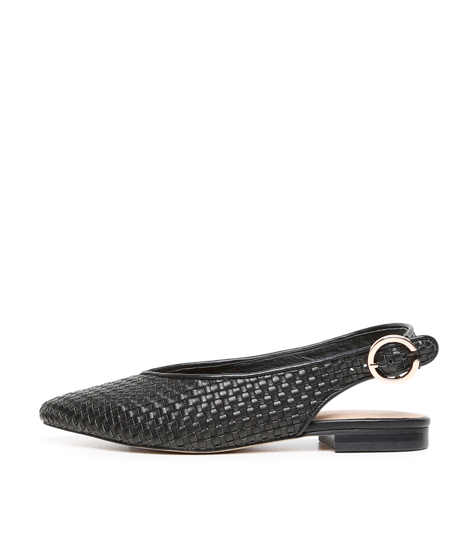 Buy Therapy Catalona Th Black Flats online with free shipping