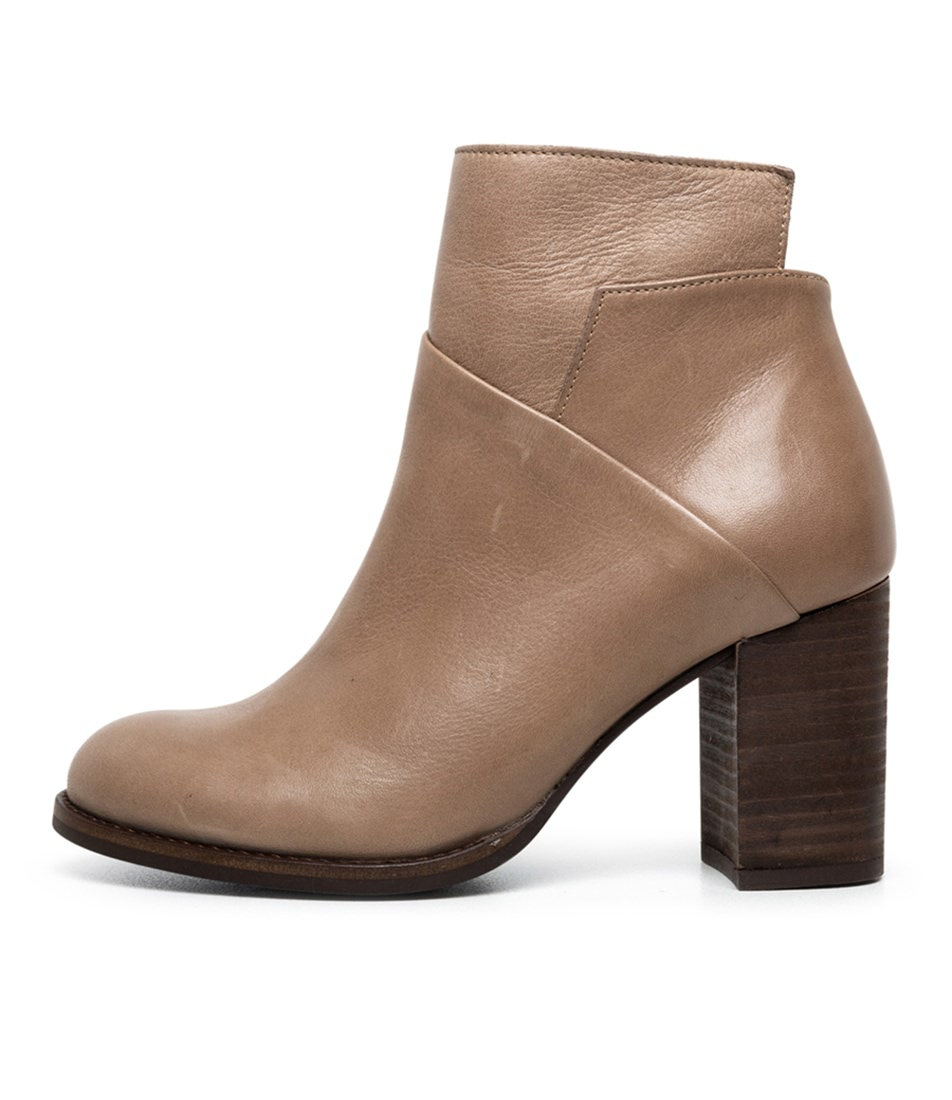 Buy Diana Ferrari Vancouver Df Taupe Ankle Boots online with free shipping