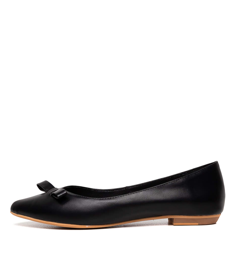 Buy I Love Billy Beedee Black Flats online with free shipping
