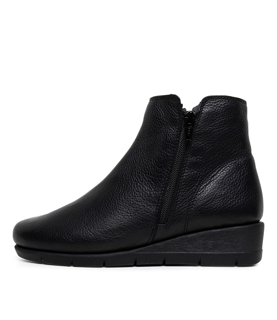 Buy Supersoft Mysaria Su Black Ankle Boots online with free shipping