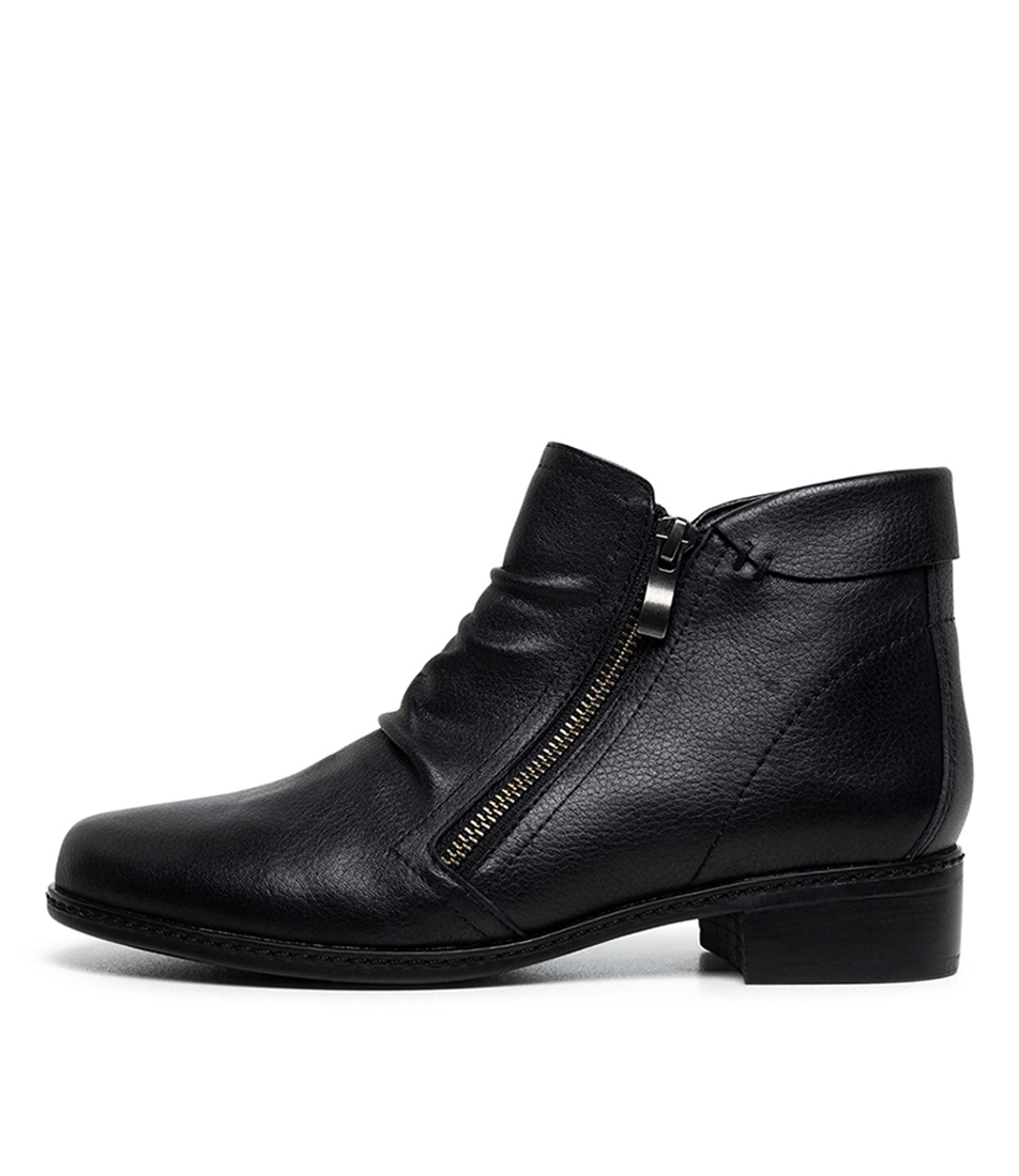 Buy Supersoft Parnel Su Black Ankle Boots online with free shipping