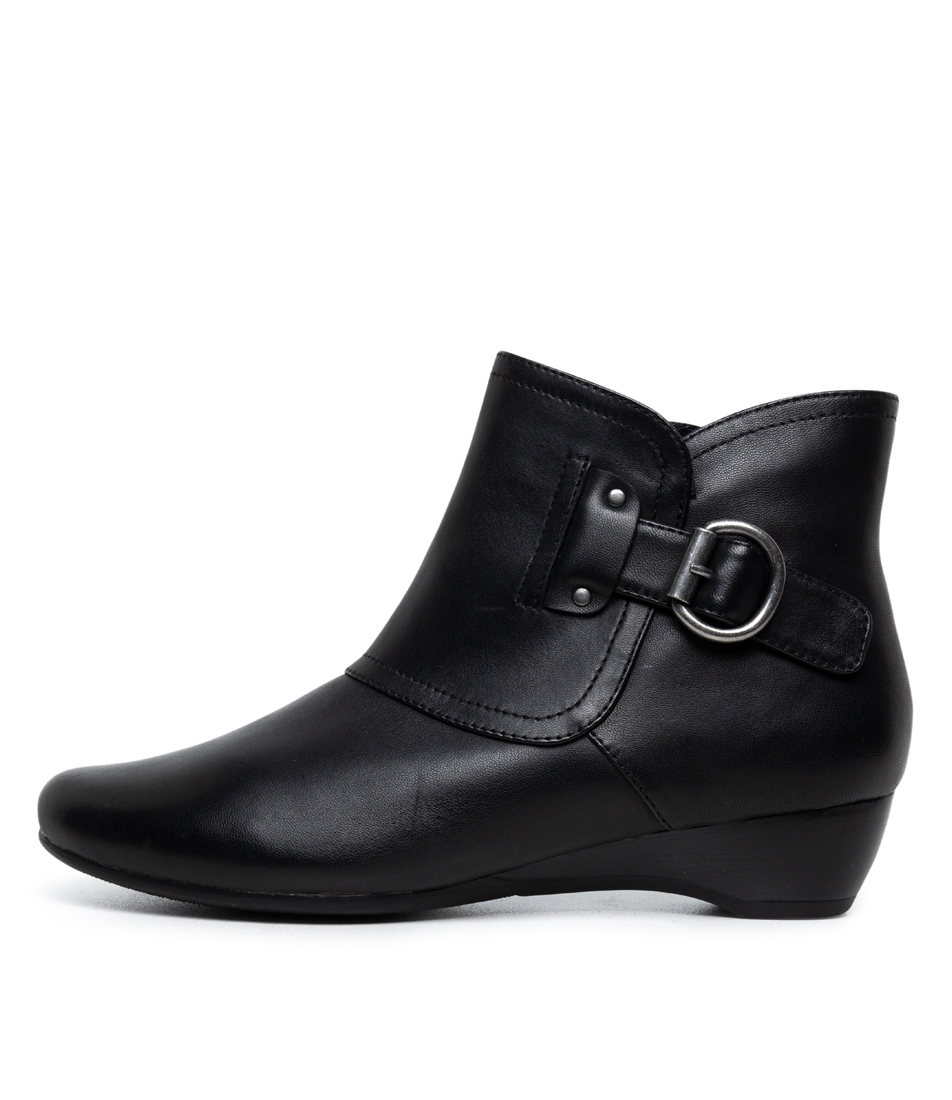 Buy Supersoft Darby Su Black Ankle Boots online with free shipping