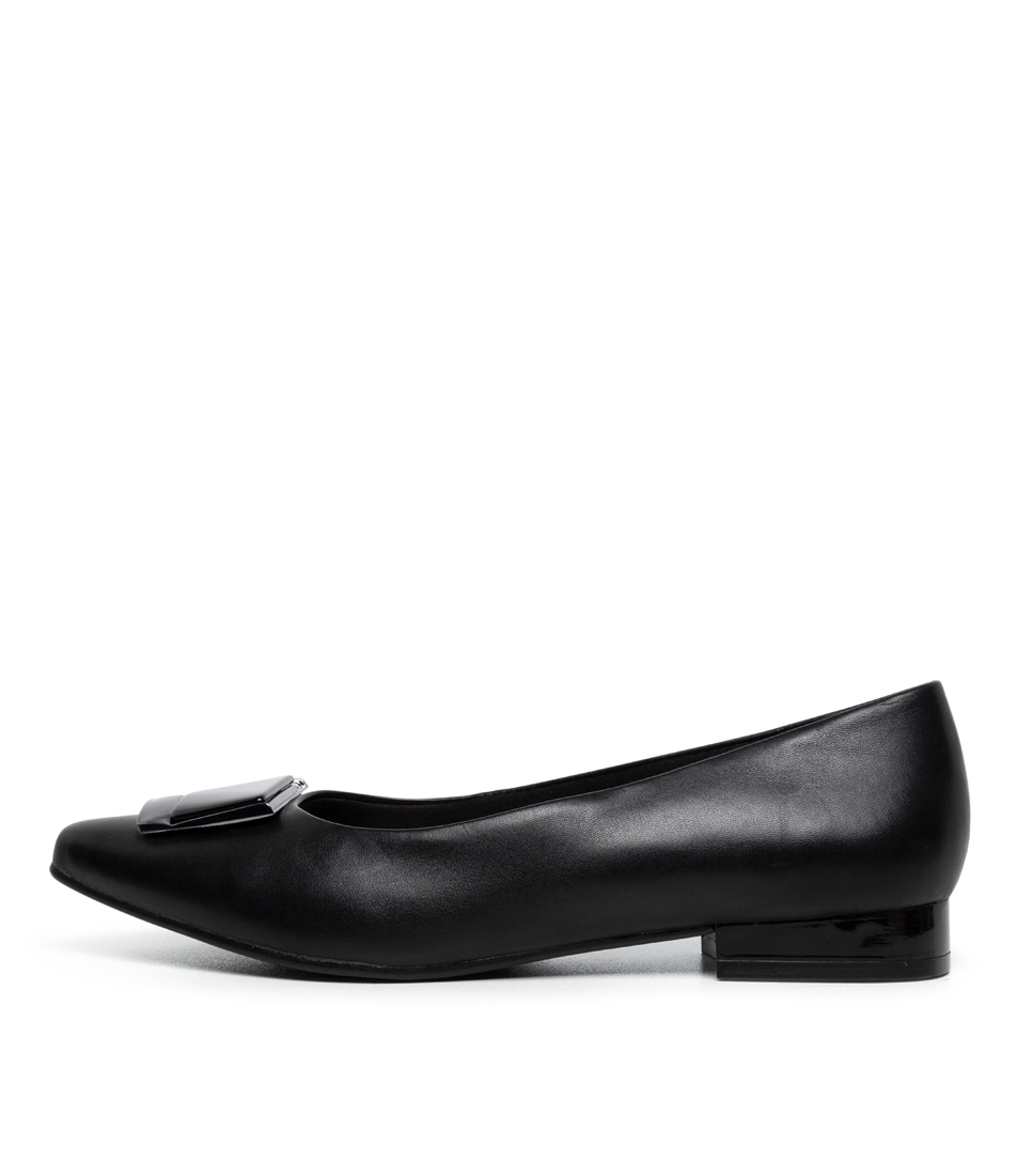 Buy Supersoft Lartisha Su Black Flats online with free shipping