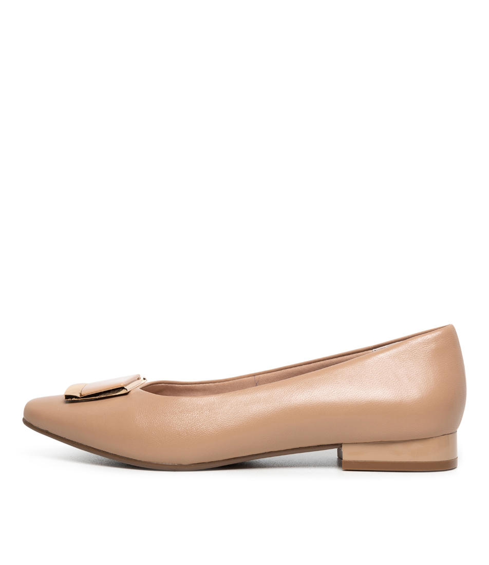 Buy Supersoft Lartisha Su Nude Flats online with free shipping