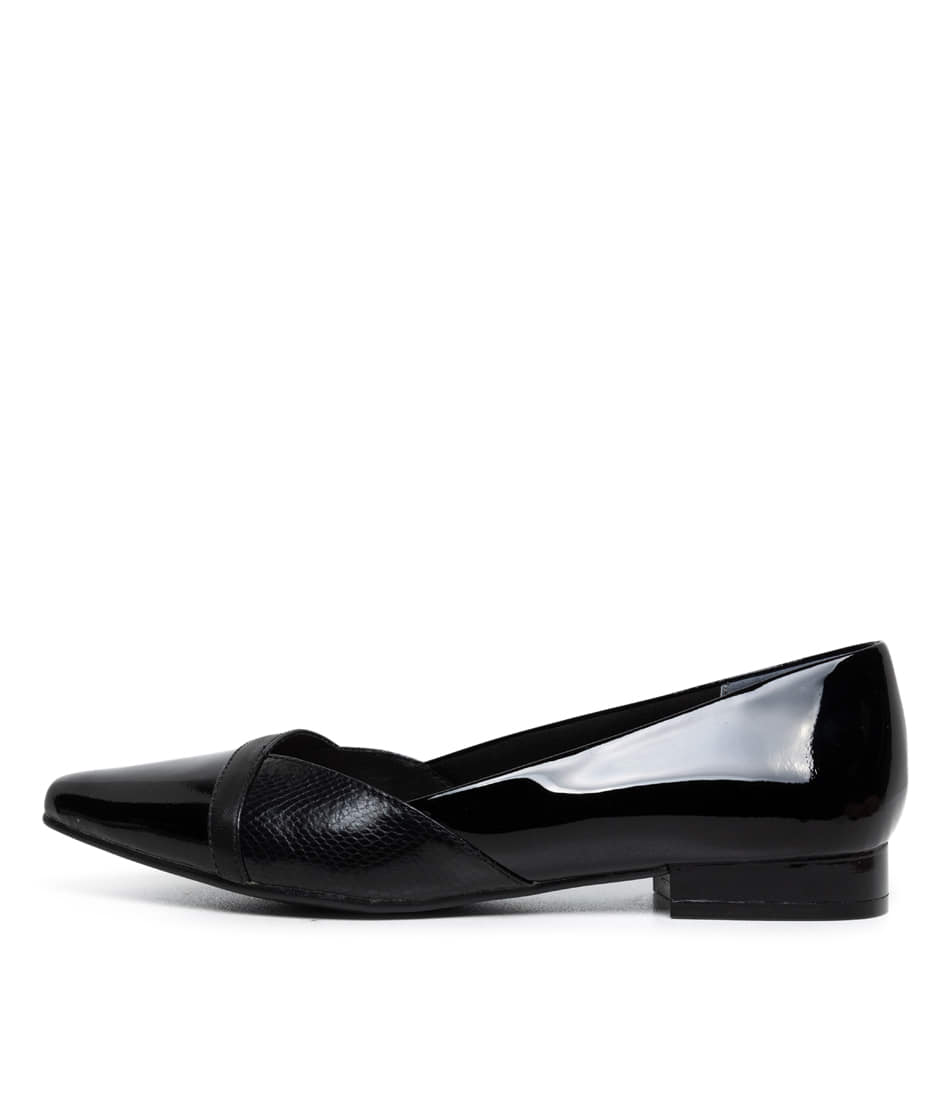 Buy Supersoft Louella Su Black Mix Flats online with free shipping