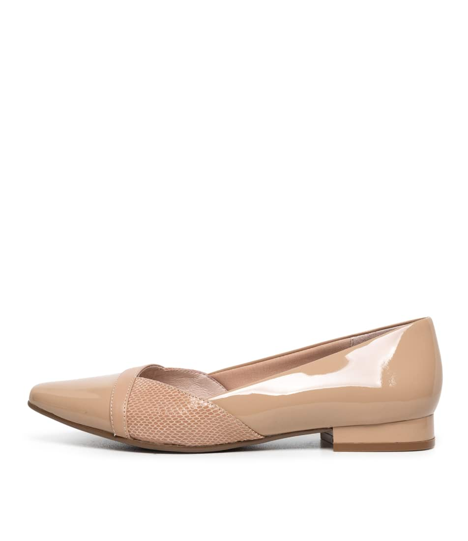 Buy Supersoft Louella Su Nude Mix Flats online with free shipping