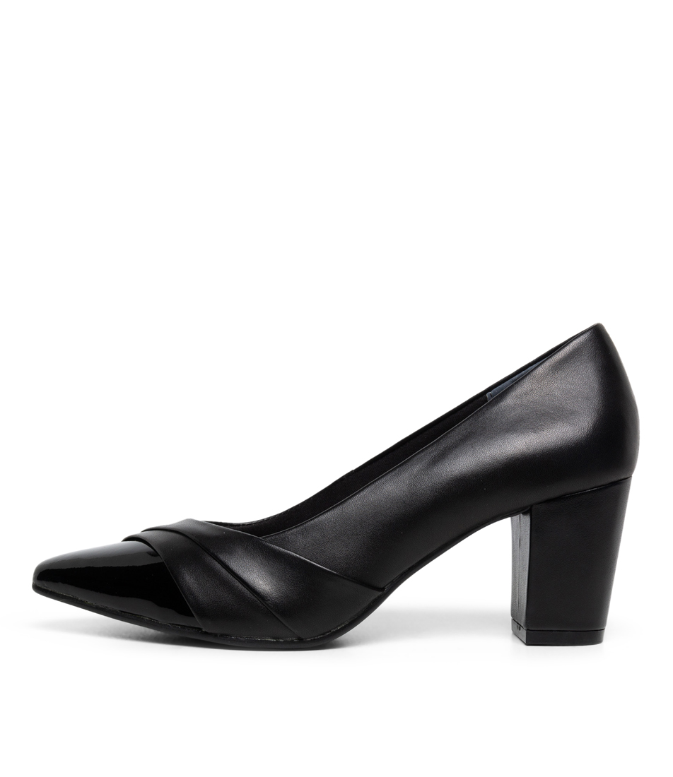 Buy Supersoft Nepal Su Black High Heels online with free shipping