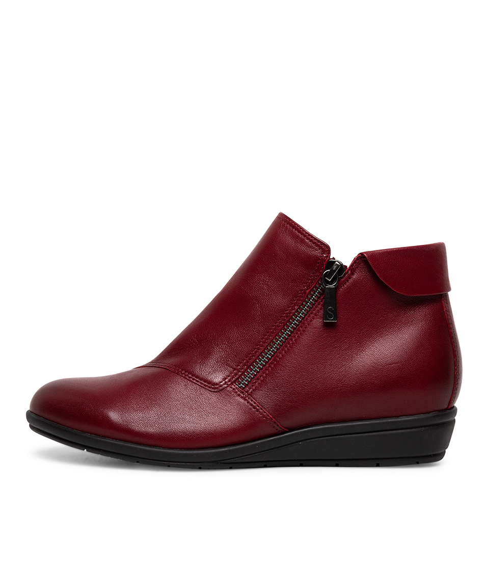 Buy Supersoft Feyre Su Red Ankle Boots online with free shipping