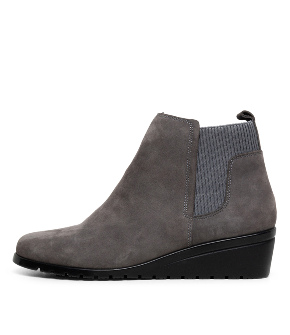 Buy Supersoft Sunrise Su Slate Blue Ankle Boots online with free shipping