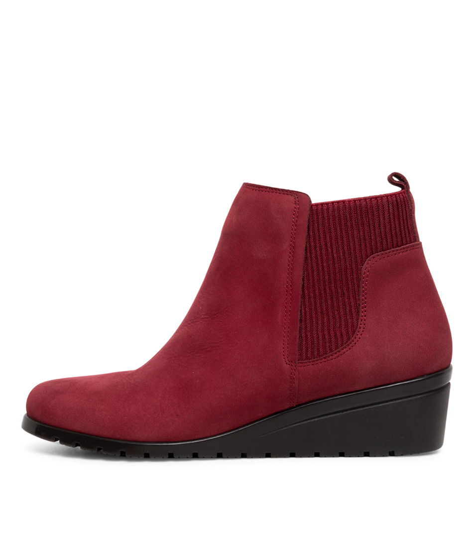 Buy Supersoft Sunrise Su Red Ankle Boots online with free shipping