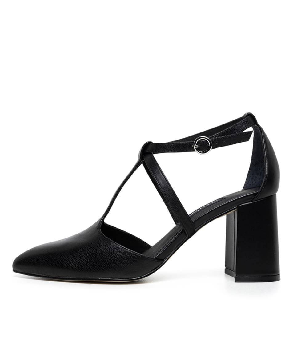 Buy Diana Ferrari Aquah Df Black High Heels online with free shipping