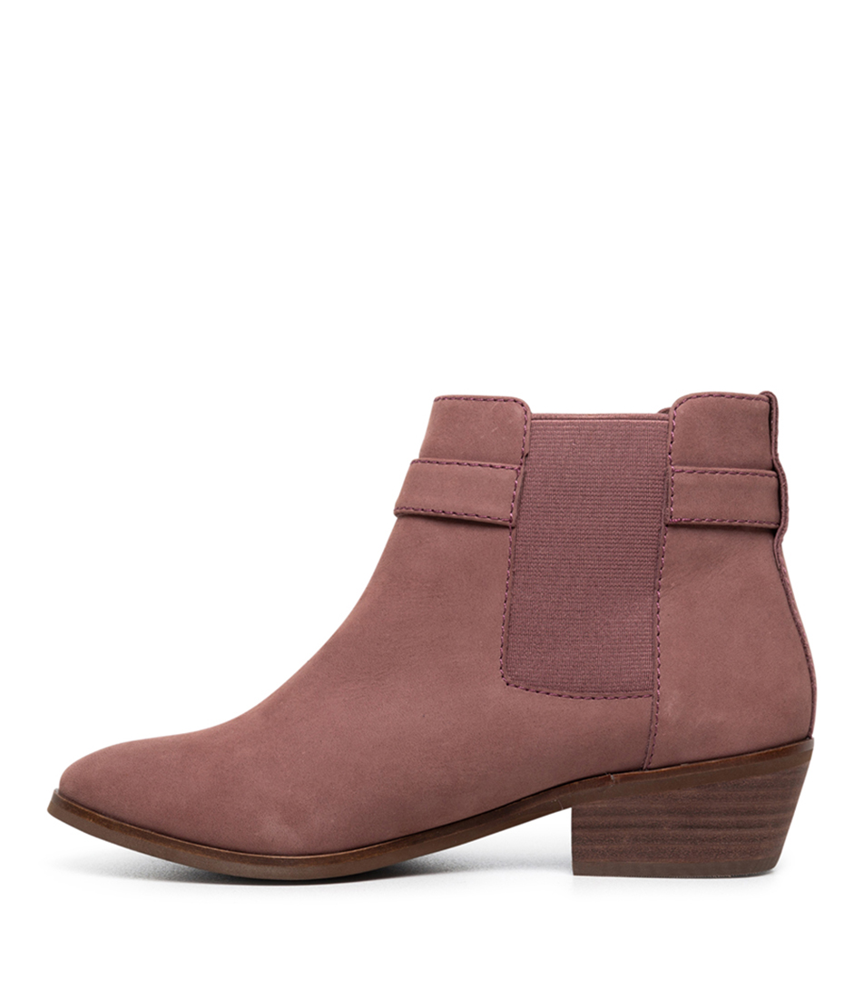 Buy Diana Ferrari Gemie Df Dark Rose Ankle Boots online with free shipping