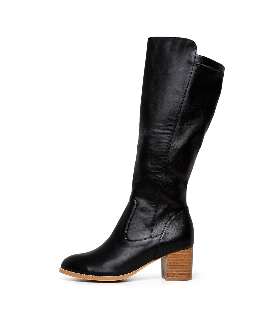 Buy I Love Billy Judd Black Long Boots online with free shipping