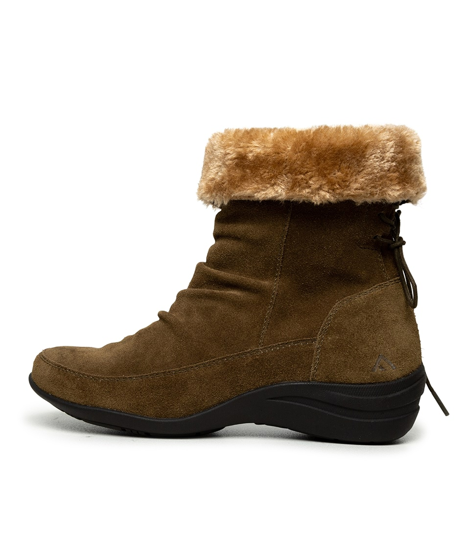Buy Colorado Bohemian Cf Khaki Ankle Boots online with free shipping