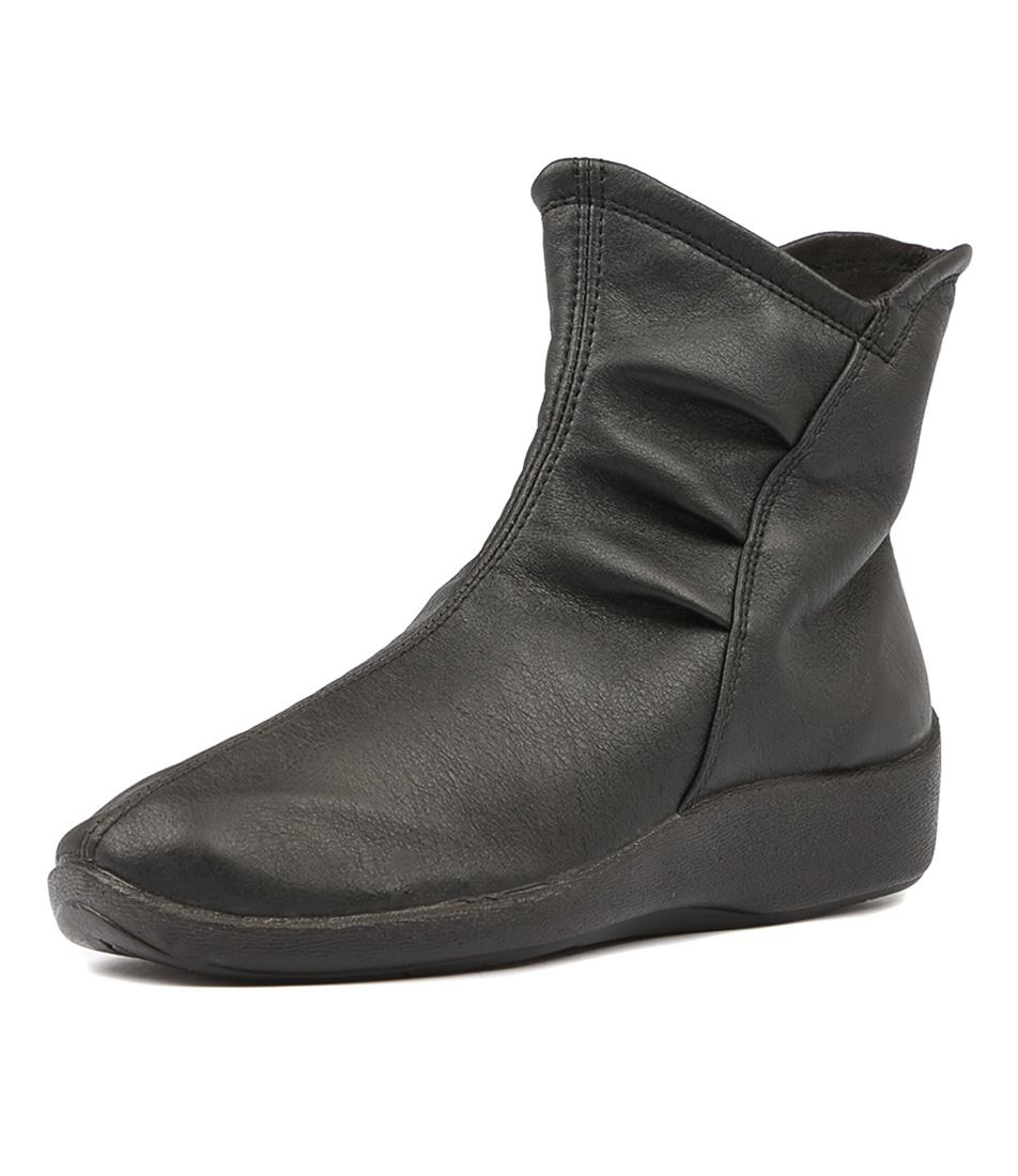 Arcopedico Natilda Schwarz Ankle Boots