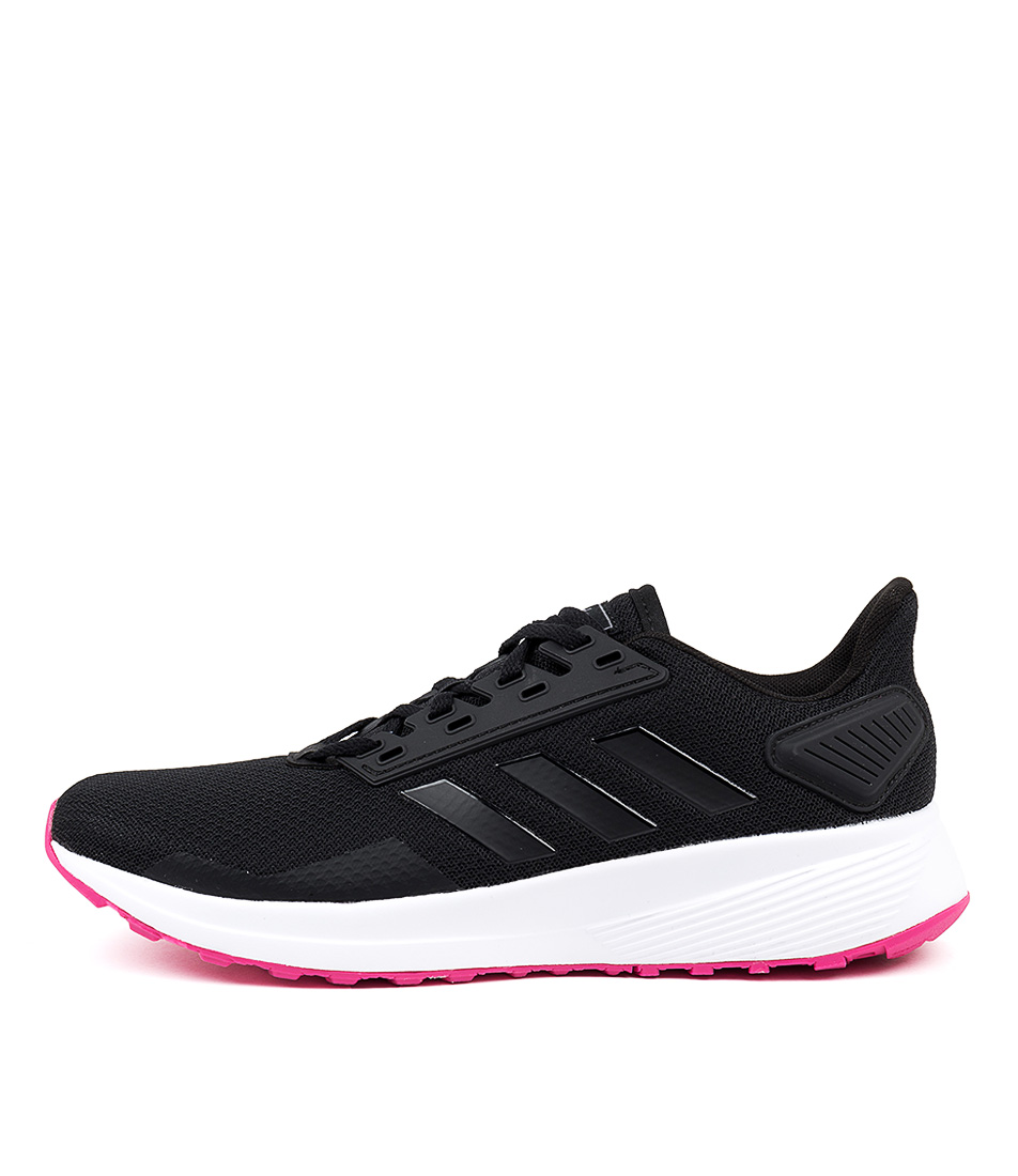 Buy Adidas Duramo 9 W Black Pink Sneakers online with free shipping