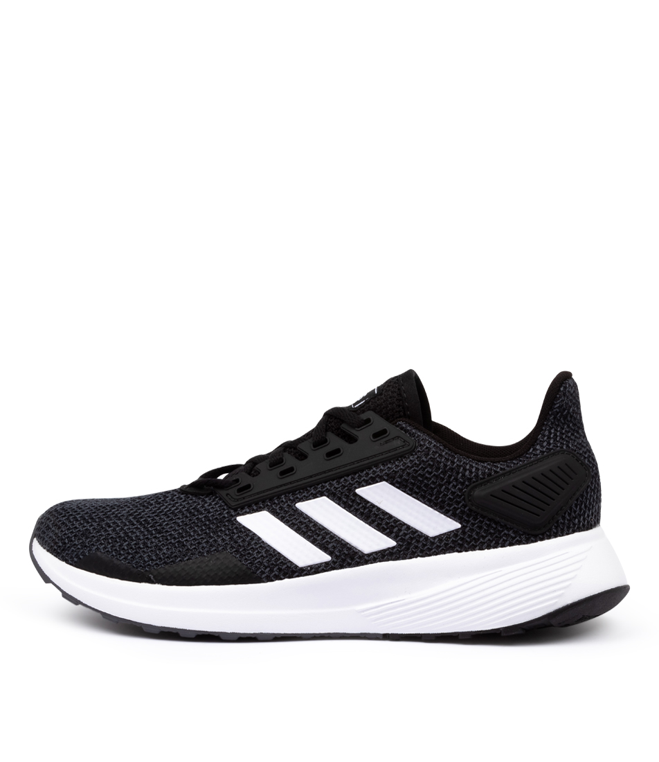 Buy Adidas Duramo 9 W Black White Sneakers online with free shipping