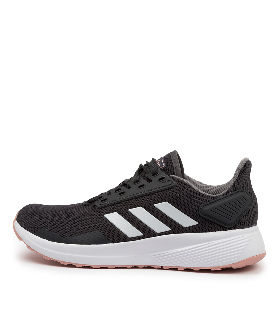 Buy Adidas Duramo 9 W Grey White Pink Sneakers online with free shipping