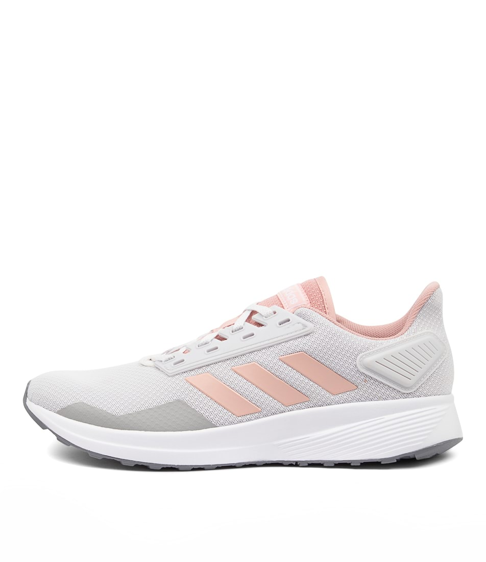 Buy Adidas Duramo 9 W Grey Pastel Pink White Sneakers online with free shipping