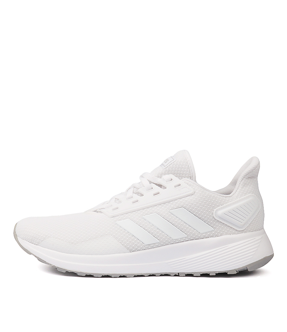 Buy Adidas Duramo 9 W White Grey Sneakers online with free shipping