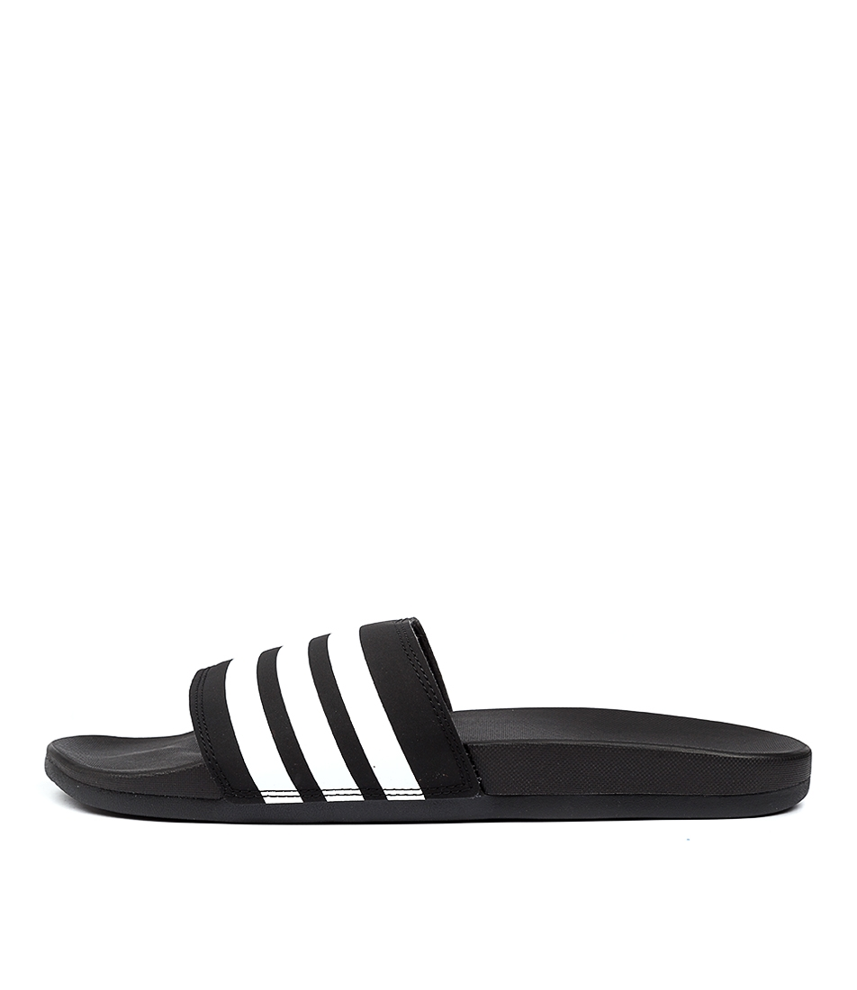 Buy Adidas Adilette Comfort W Black White Bla Sandals online with free shipping