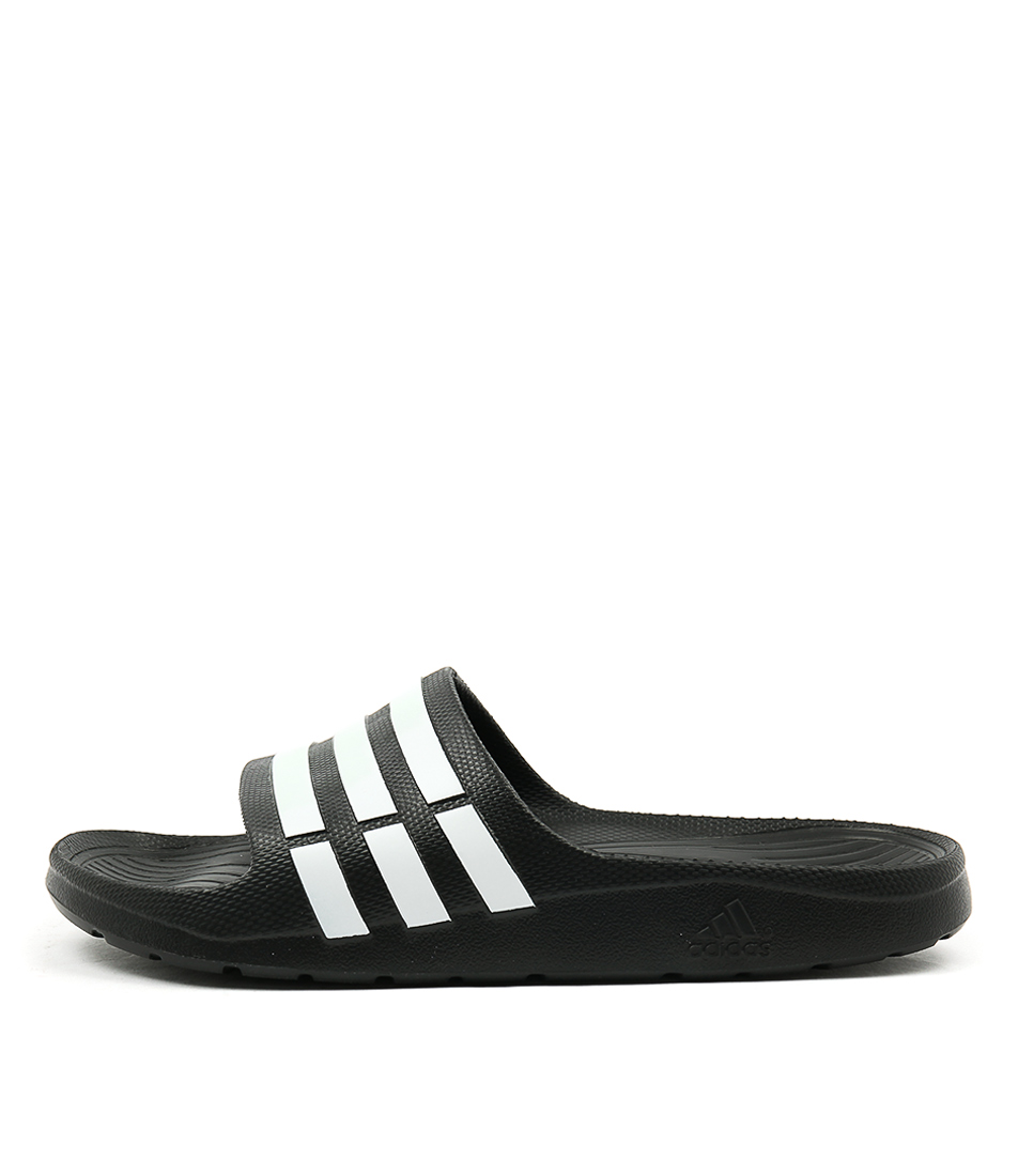 Adidas Duramo Slide W Black White Sandals