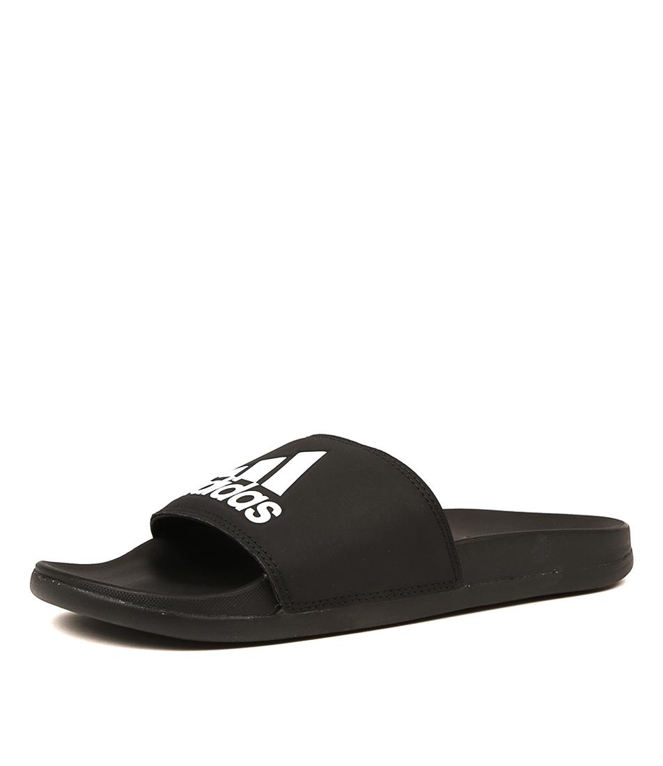 c7c31ac834c246 New Adidas Adilette Comfort Mens Shoes Casual Sandals Sandals Flat ...
