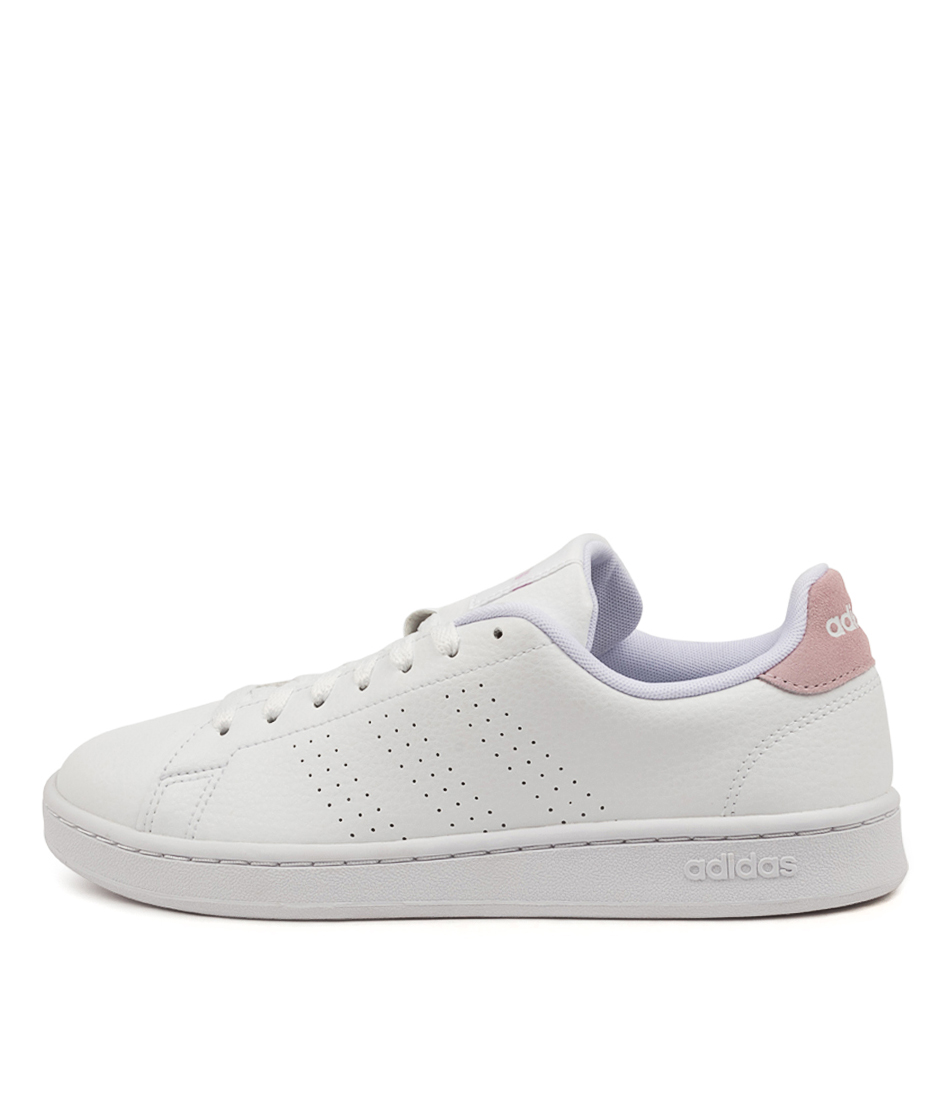 Buy Adidas Advantage W White Pink Sneakers online with free shipping