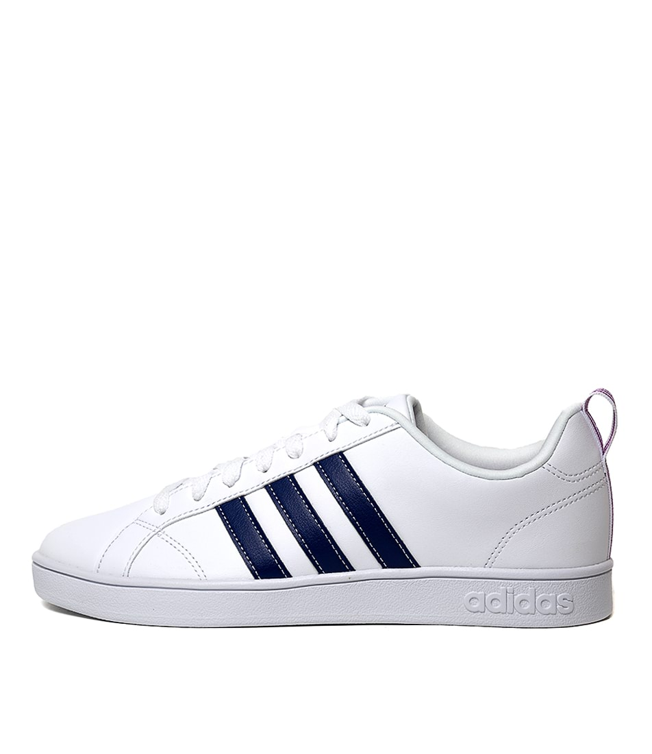 Buy Adidas Vs Advantage White Navy Sneakers online with free shipping