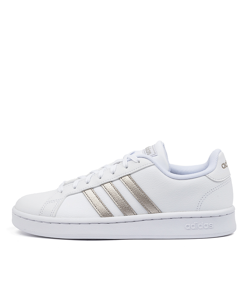 Buy Adidas Grand Court W White Platinum Sneakers online with free shipping