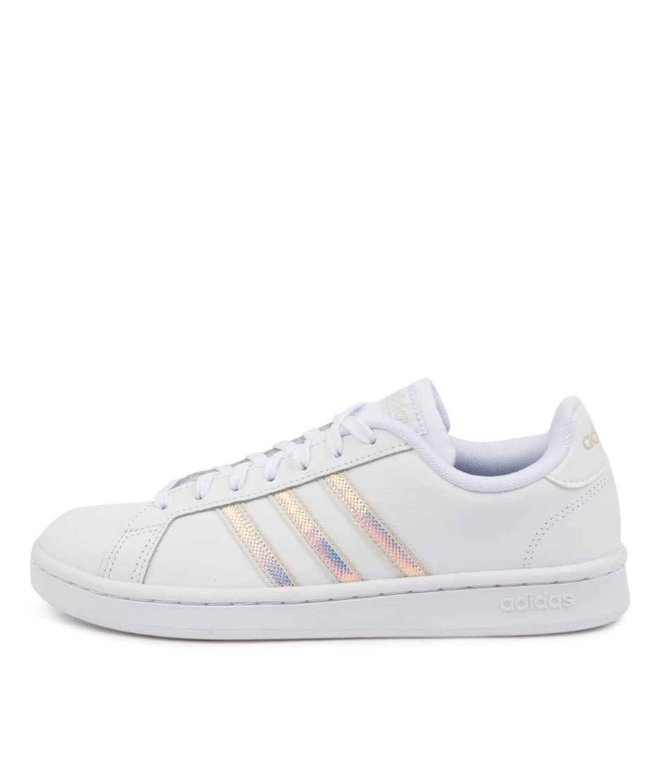 Buy Adidas Grand Court W White Alumina Sneakers online with free shipping