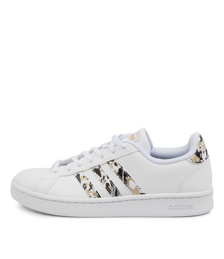 Buy Adidas Grand Court W White White Copper Sneakers online with free shipping