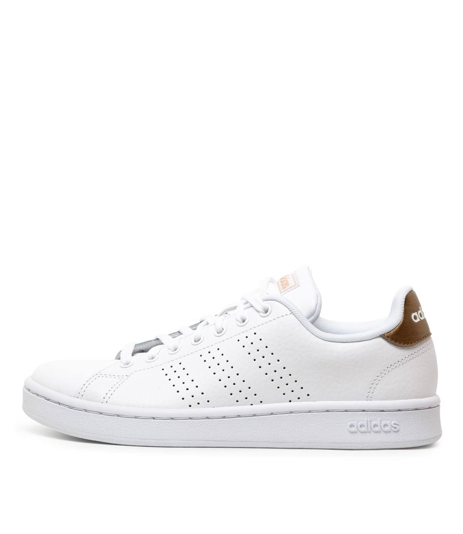 Buy Adidas Advantage W White Pale Gold Sneakers online with free shipping