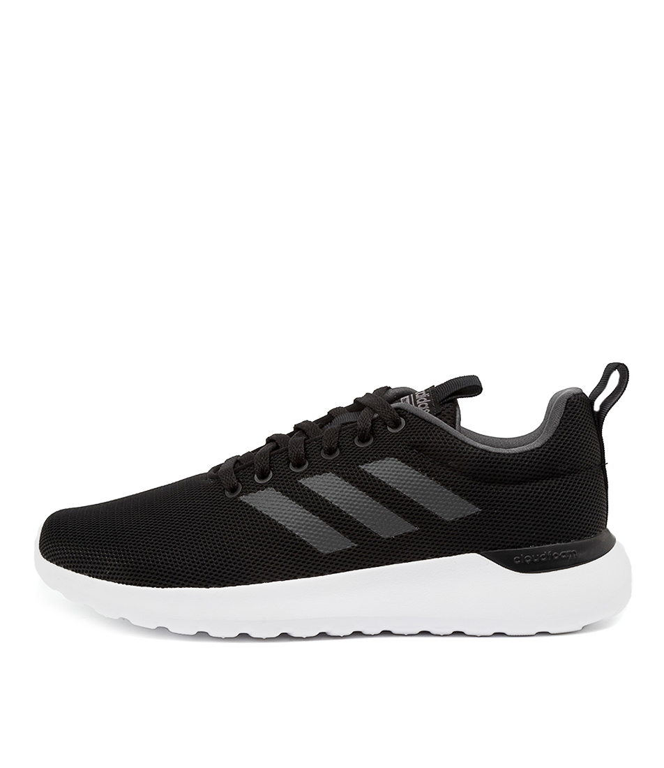Buy Adidas Lite Racer Cln Ad Black White Sneakers online with free shipping