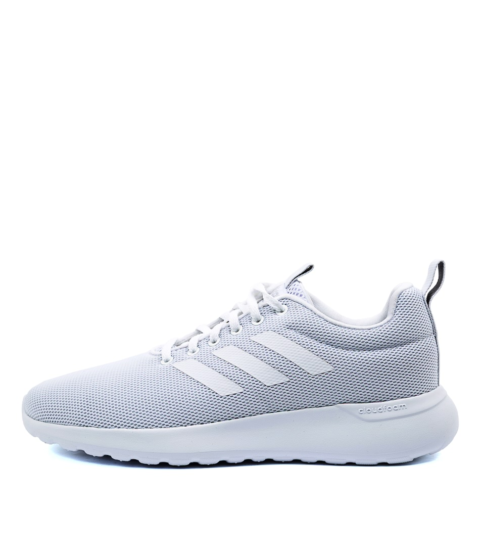 Buy Adidas Lite Racer Cln Ad White Grey Sneakers online with free shipping